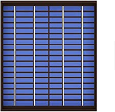 TOTAMEND Solar Panel | 10 20 watts Solar Panel Mini PET polycrystalline 5W 10W 20W 18V PV Module Cell Charge for 12V Battery Charger W Watt