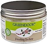 Greendoor esfoliante per il viso, a base di zucchero, scrub per il viso e collo e sfaldamento e...