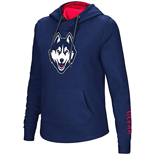 99677d32800e4e Womens UConn Connecticut Huskies Pull-Over Hoodie