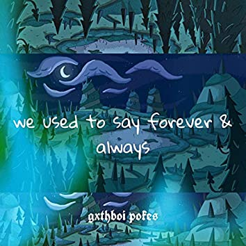 We Used to Say Forever & Always
