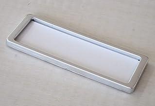 ラベルプレート Sサイズ 両面テープタイプ (マットメタリック) 5枚入