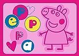 Associated Weavers 623130 Tapis Peppa Pig! Polyamide Rose 133 x 2 x 95 cm