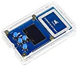 ST25R3911B NFC Development Kit NFC Reader,Onboard STM32F103 Controller/1.3' OLED Display/SRAM/Micro SD Slot/Programming UART Debugging Interface Support Multi NFC Protocols up to 1.4W Output Power