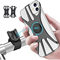 2-Pack Oowolf Detachable Rotation Silicone Bicycle Phone Mount