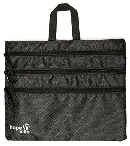 HOPEVILLE , Organizer per valigie nero nero