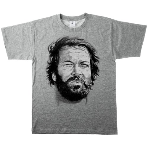 RedStigma BUD SPENCER Foto T-Shirt Gr. S - 5XL Buddy Mücke Terence Hill Banana Joe
