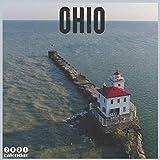 Ohio 2021 Calendar: Official Travel Ohio Wall Calendar 2021, 18 Months