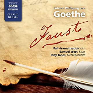 Faust                   By:                                                                                                                                 Johann Wolfgang von Goethe                               Narrated by:                                                                                                                                 Auriol Smith,                                                                                        Gunnar Cauthery,                                                                                        Stephen Critchlow,                   and others                 Length: 3 hrs and 58 mins     63 ratings     Overall 4.0