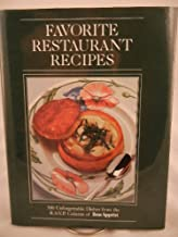 Favorite restaurant recipes: 500 unforgettable dishes from the R.S.V.P. column of Bon appétit