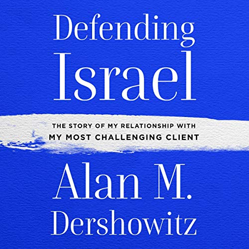Defending Israel audiobook cover art