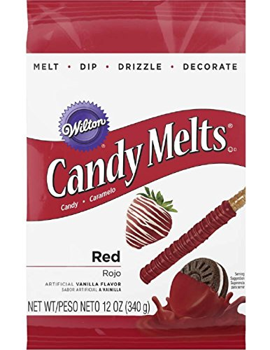 Wilton Red Candy Melts Candy, 12 oz.