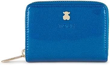 Tous 995960390, Monedero para Mujer, (Azul), 10x8x2.5 cm (W x H x L)