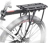 Jilibaba Portabicicletas Trasera de Bicicleta Extraíble Portabicicletas Soporte Soporte Ajustable Alta Capacidad Portabicicletas Soporte para Bicicleta de Montaña Bicicleta de