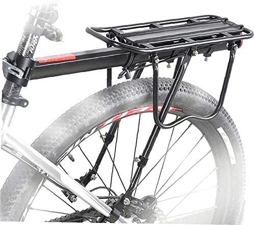 Jilibaba Portabicicletas Trasera de Bicicleta Extraíble Portabicicletas Soporte Soporte Ajustable Alta Capacidad...