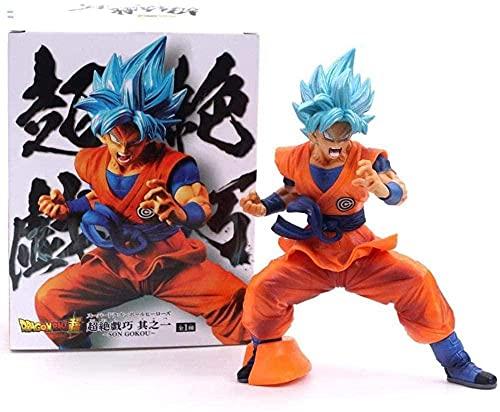 18 cm Dragón Bola Super-Competencia Son Goku Figurine D Acción Sueuvenir Estatua Animada Super Saiyan-Dios Goku Colección Objetos Decoraciones Modelo Puppet
