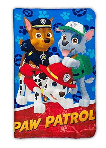 Fleecedecke Hunde Paw Patrol Patrol Playing
