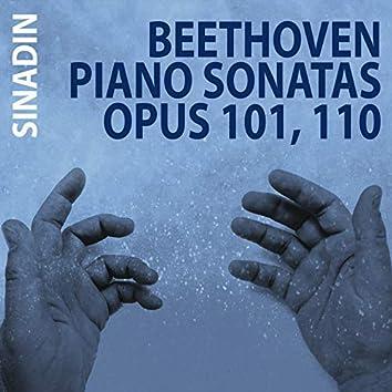 Piano Sonatas, Op. 101 & 110