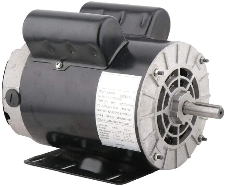 3HP Compressor 40% OFF Cheap Sale Duty Electric Motor Super beauty product restock quality top! Single 56 3450RPM Phase Frame