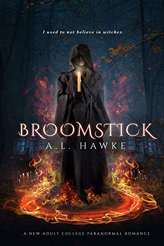 A new adult college paranormal romance! Do you believe in ghosts? How 'bout witches? Katie does. You will too after reading: Broomstick by A.L. Hawke