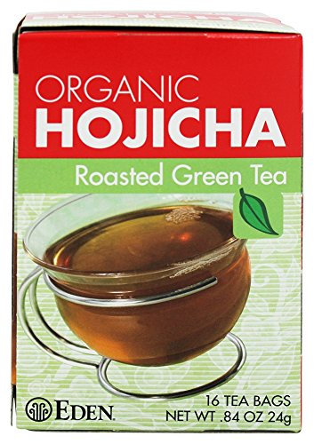 Hojicha Roasted Green Tea, Organic, 16 Tea Bags
