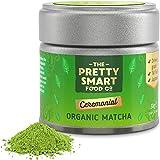 Organic Matcha Green Tea Powder Ceremonial Grade | Japanese Premium Matcha Tea | First Harvest Single Source Leaf | Grade AAA | Pure Flavour | 30g