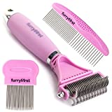 Best Cat Dematting Brushes - Furryfirst Dog Cat Grooming Tool Kit – Thick Review