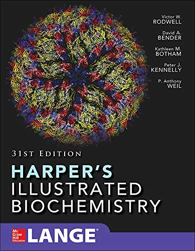 Compare Textbook Prices for Harper's Illustrated Biochemistry Thirty-First Edition 31 Edition ISBN 9781259837937 by Rodwell, Victor,Bender, David,Botham, Kathleen,Kennelly, Peter,Weil, P. Anthony