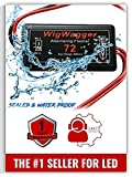 Stop-Alert WigWagger 72 Electronic Wig Wag Alternating Flasher Relay - Waterproof Universal Emergency Police Ambulance Car Controller LED Strobe Light Box Kit- Compatible 12-24V
