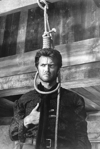 Clint Eastwood Good, Bad and Ugly With Noose 24x36 Poster
