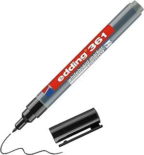 edding 4-361001 whiteboardmarker Edding 361, navulbaar, 1 mm, zwart