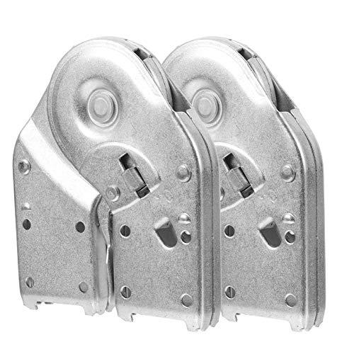 DOITOOL 2 piezas de soporte plegable bisagra autobloqueante bancos escalonamiento bisagra reemplazo...