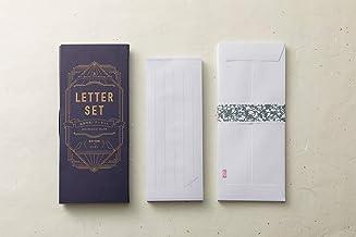 はいばら(榛原)×趣味の文具箱 ペンとインク柄の蛇腹便箋レターセット 好きな長さで切り離し可能 お礼状 招待状 お手紙