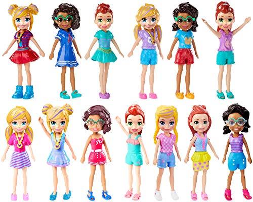Polly Pocket! Sortimento Boneca Básica Fwy19 Mattel Colorido - APENAS 1 (UM) ITEM, NÃO É POSSÍVEL ESCOLHER A BONECA