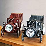 Pkfinrd Reloj Despertador Europeo Antiguo Forjado Hierro clásico...