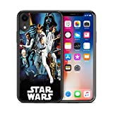 ModifiedCases Vintage 1 Star Wars Phone Case Compatible with iPhone XR
