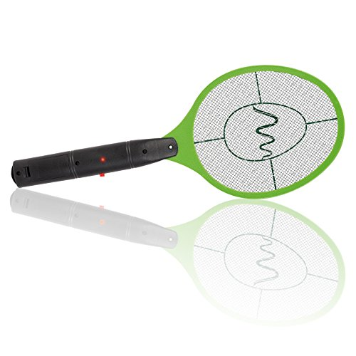 Gardigo matamoscas eléctrico Raqueta exterminadora mosquitos y demás insectos