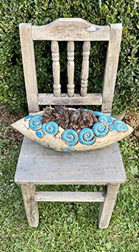 Schale Pflanzschale Keramik Hauswurz Frostfest