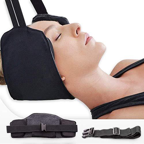 JiGAN Hangmat voor de nek – nekpijn verlichten hangmat, draagbare fysiotherapie, tegen hoofdpijn, migraine en stress