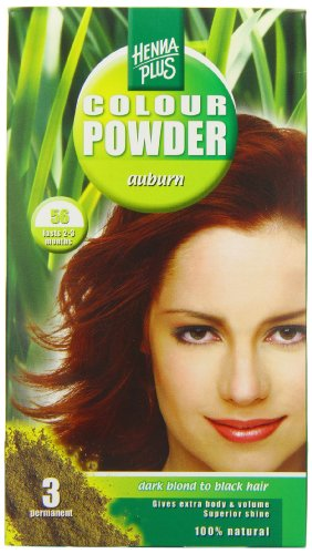 Henna Plus Colour Powder 56, 100g, Auburn