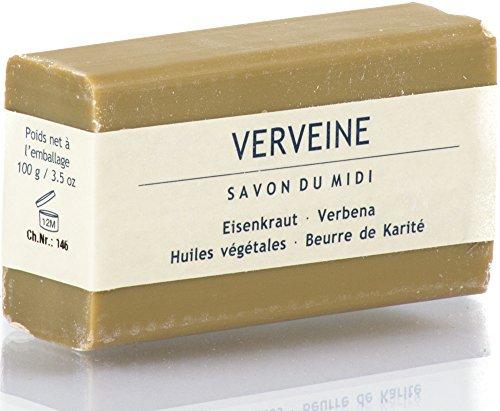 Savon du Midi Karitébutter-Seife mit Eisenkraut (100 g)