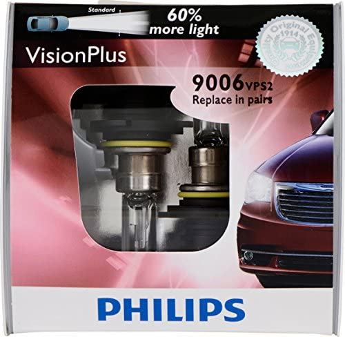 Philips 9006 VisionPlus Replacement Bulb Pack of 2 product image