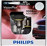 Philips 9006 VisionPlus Replacement Bulb, (Pack of 2)