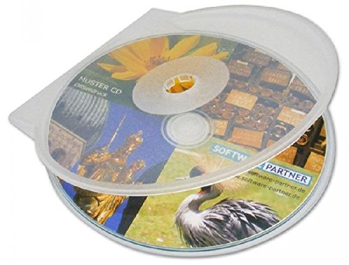 Mondial-fete - 8 boîtiers CD/DVD en PVC-Couleurs Assorties