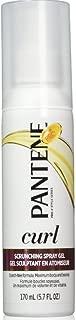 Pantene Pro-V Curly Hair Curl Enhancing Spray Gel, 5.7 oz, 2 pk