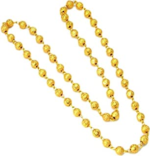 Gold plated traditional designer trendy golden matar mala neck chain for women. stylish Chain for women and girl jewellery...