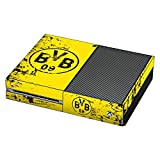 DeinDesign Skin kompatibel mit Microsoft Xbox One Folie Sticker Borussia Dortmund Offizielles Lizenzprodukt BVB