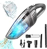 Portable Cordless Handheld Car Vacuum Cleaner, Benefast 7000PA Strong Suction, 120W High Power, Quick Cleaning, Wet Dry Use