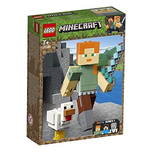 LEGO 21149 Minecraft Maxi-Figure di Alex con Gallina (Ritirato dal Produttore)