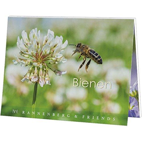 Postkartenbuch Bienen, Postkarte Ansichtskarte, Biene
