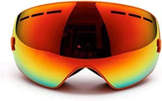 Ski Goggles Double Lens Uv400 Anti-Fog Adult Snowboard Skiings Snow Eyewear